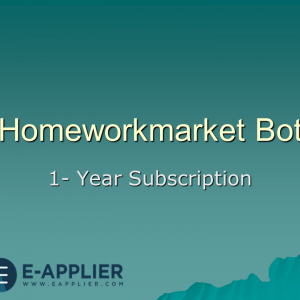 homeworkmarket bot 1 year