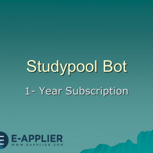 studypool bot 1 year