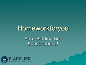 Homeworkforyou Auto Bidding Bot