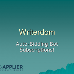 Writerdom Auto Bidding Bot