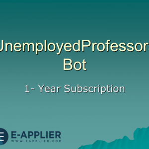 UnemployedProfessors Bot